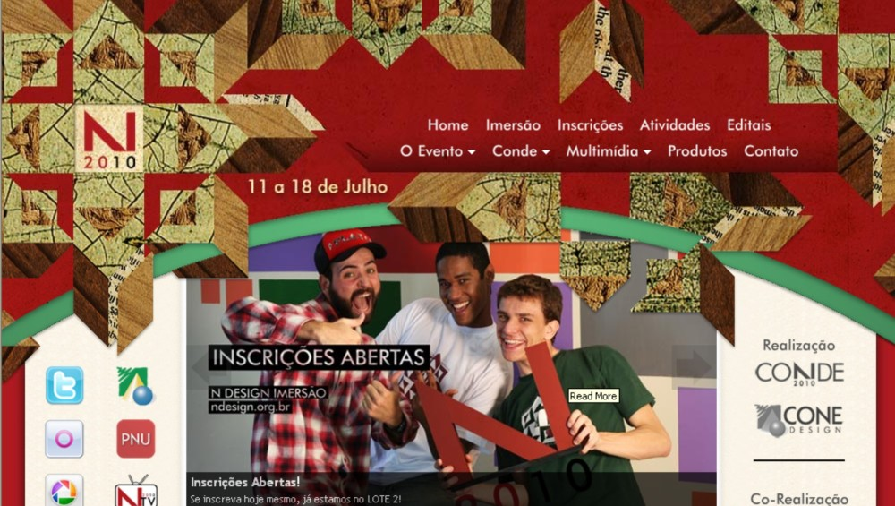 Participe do N Design - Encontro Nacional de Design