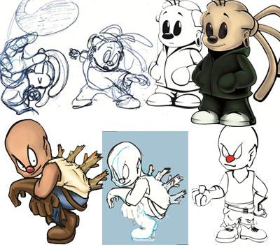 Geração de alternativas dos personagens