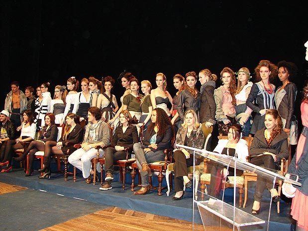 Os dez finalistas e suas coleções