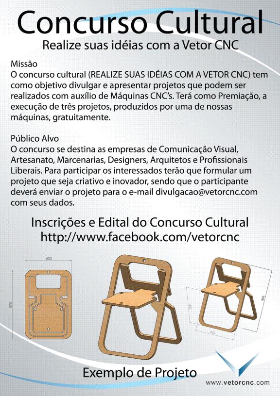 Concurso Cultural Vetor CNC